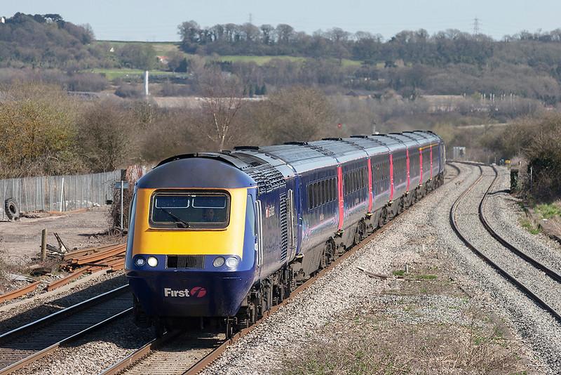 43156 and 43037, Pilning 8/4/2010<br /> 1B37 1315 London Paddington-Cardiff Central
