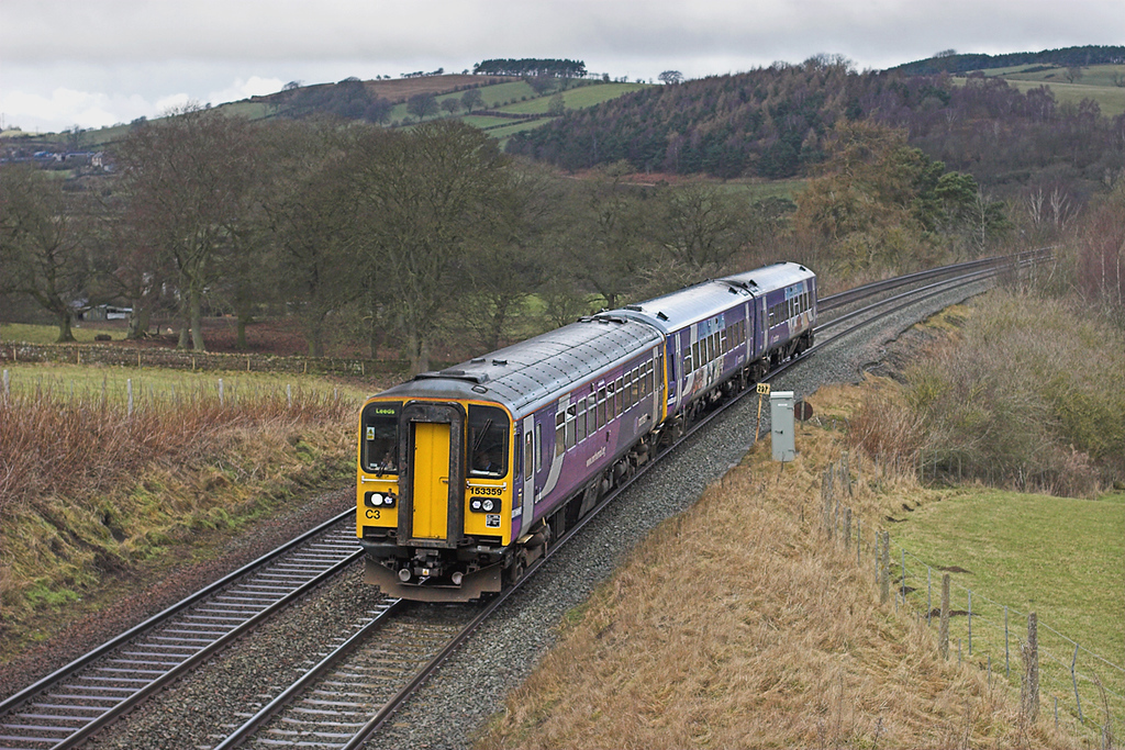 153359 and 158905, Coombe Eden 9/2/2010<br /> 2H89 1151 Carlisle-Leeds