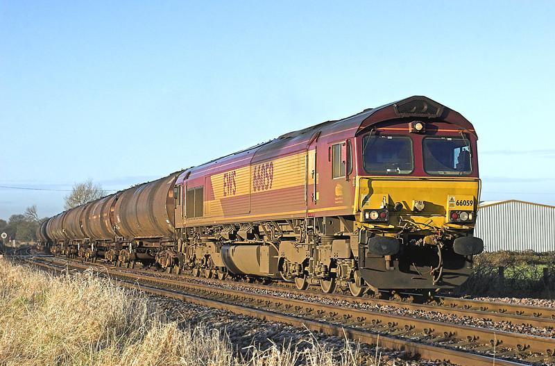 66059 Gregson Lane 10/2/2010<br /> 6E32 0855 Preston Docks-Lindsey OR