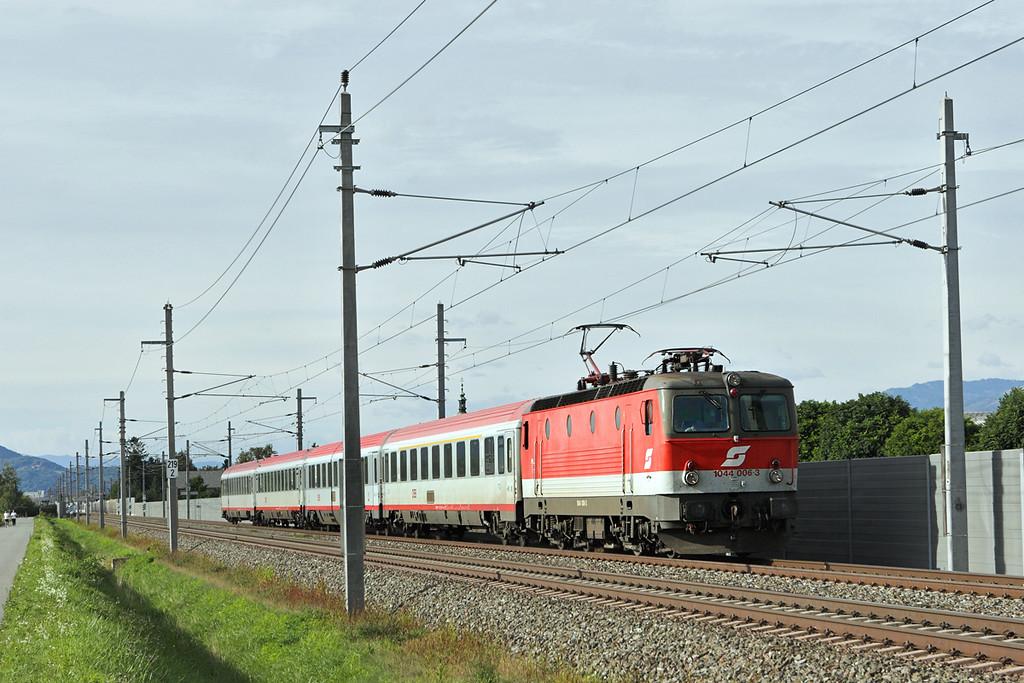 1044 006 Graz Feldkirchen 10/9/2010<br /> OIC259 1403 Wien Meidling-Maribor