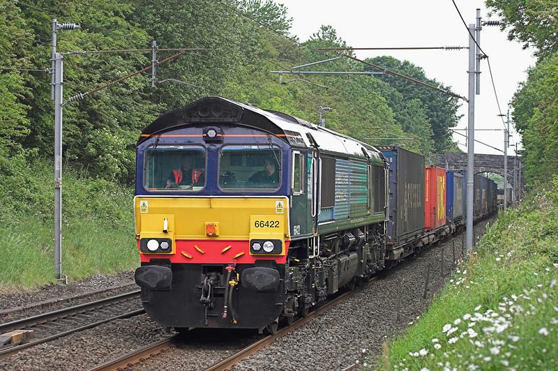 66422 Sedgwick 11/6/2010<br /> 4M34 0426 Coatbridge-Daventry