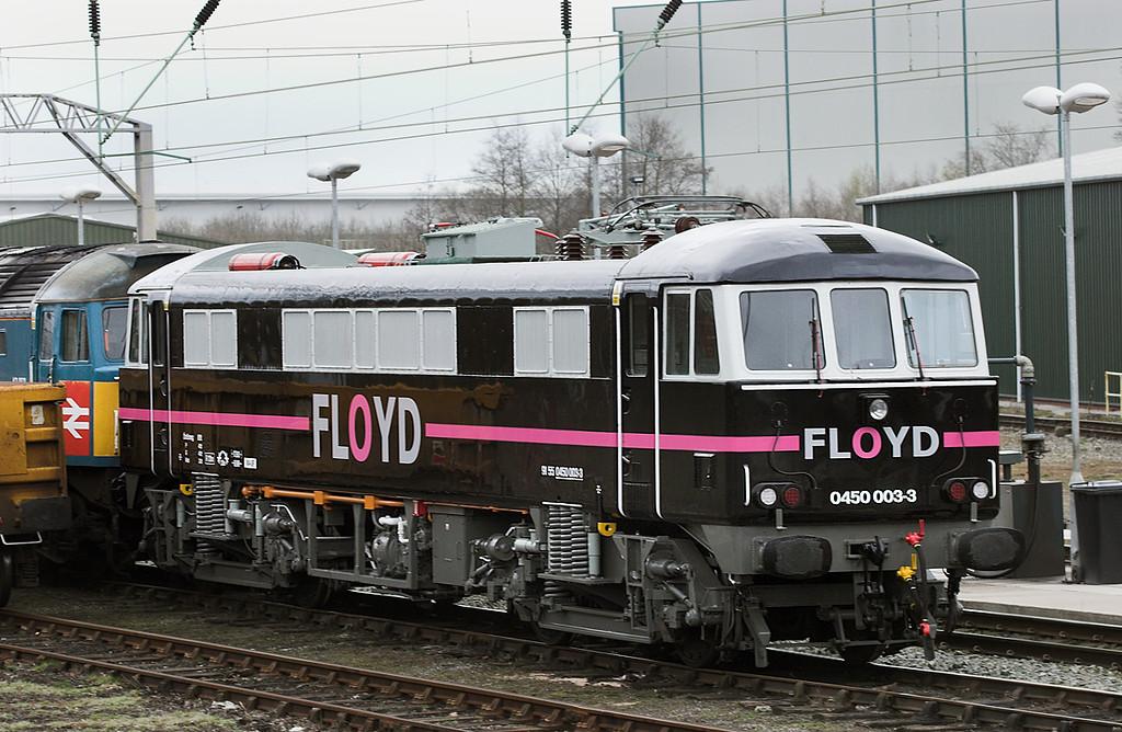 450003 (ex 86232), Crewe 13/4/2010