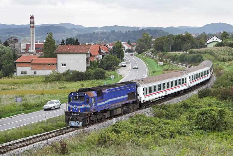 2044 020 Novi Marof 13/9/2010<br /> B790 1512 Zagreb Gl.kol-Kotoriba