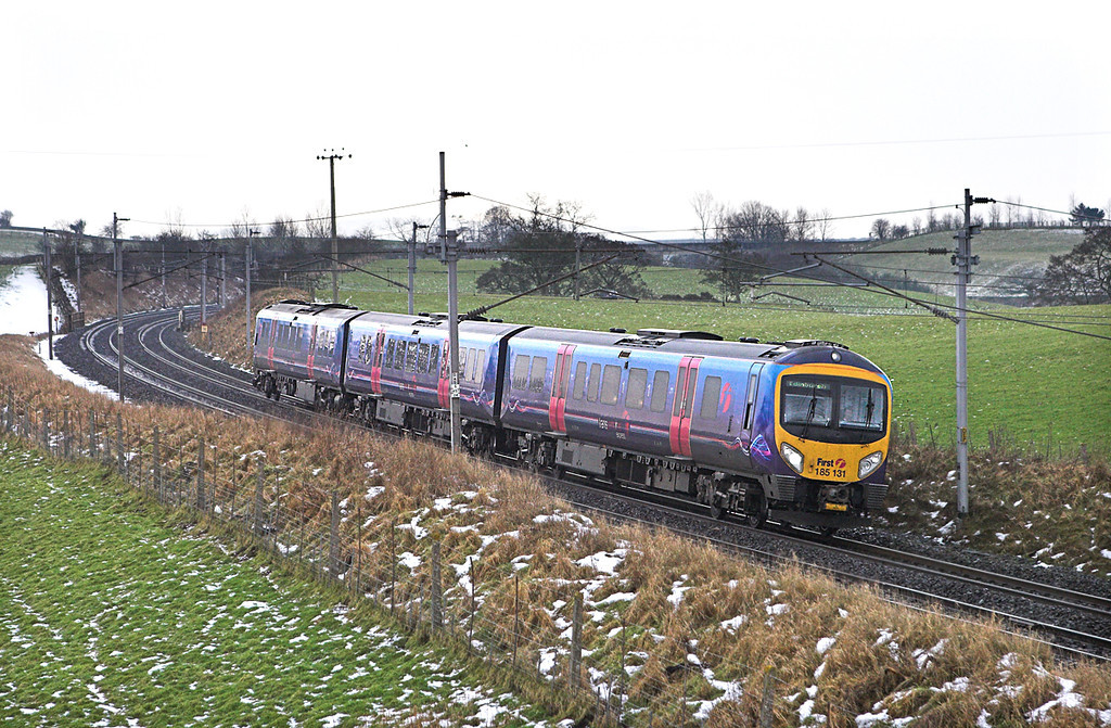 185131 Kitchen Hill 14/1/2010<br /> 1S56 1200 Manchester Airport-Edinburgh