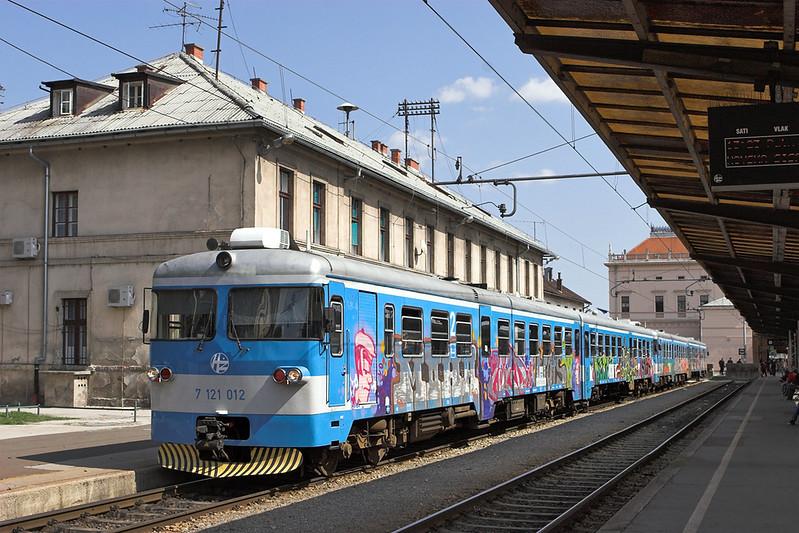 7121 012 Zagreb Gl.kol 14/9/2010<br /> 3008 1313 Zagreb Gl.kol-Varazdin