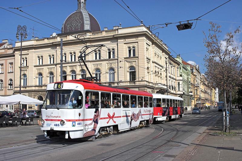 465 and 814, Trg J. Jelačića 14/9/2010
