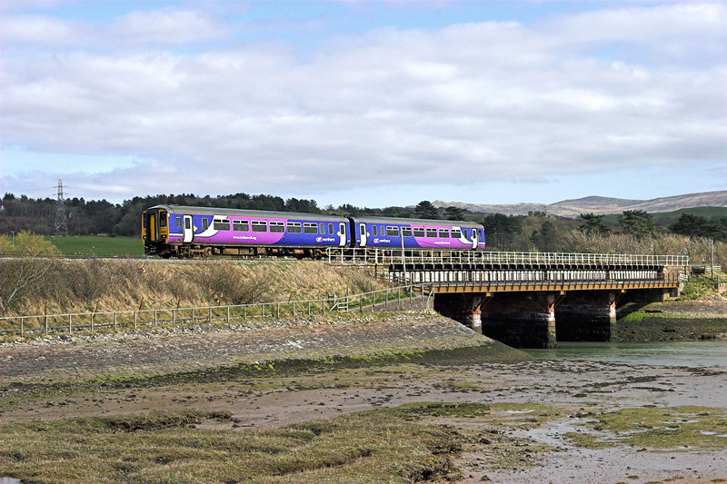 156451 Ravenglass 15/4/2010<br /> 2C41 1454 Barrow in Furness-Carlisle