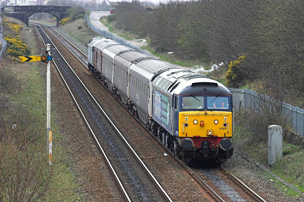 57012 and 47501, Workington North 15/4/2010<br /> 2T11 1220 Workington-Maryport