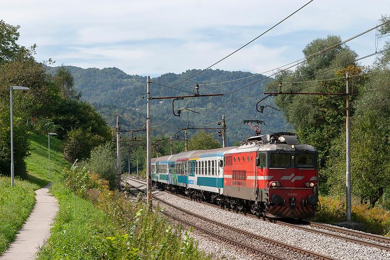 342-014 Jevnica 15/9/2010<br /> IC506 1235 Ljubljana-Maribor