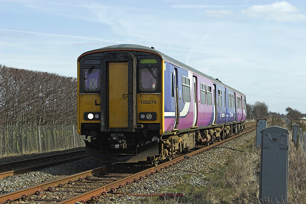 150276 Scarisbrick 16/3/2010<br /> 2F86 1203 Manchester Airport-Southport