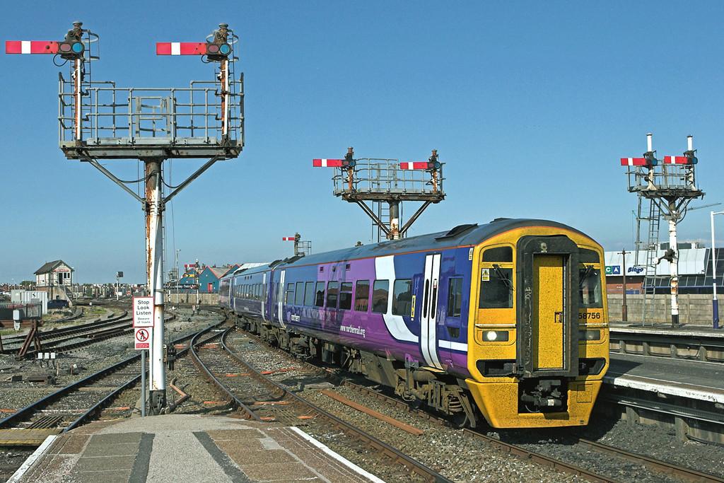 158756 Blackpool North 18/5/2010<br /> 1B34 1413 York-Blackpool North