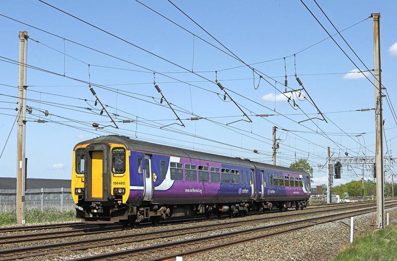 156482 Farington 18/5/2010<br /> 2F63 1037 Blackpool North-Liverpool Lime Street