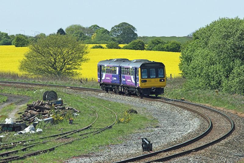 142056 Kirkham 18/5/2010<br /> 2N12 1244 Blackpool South-Colne