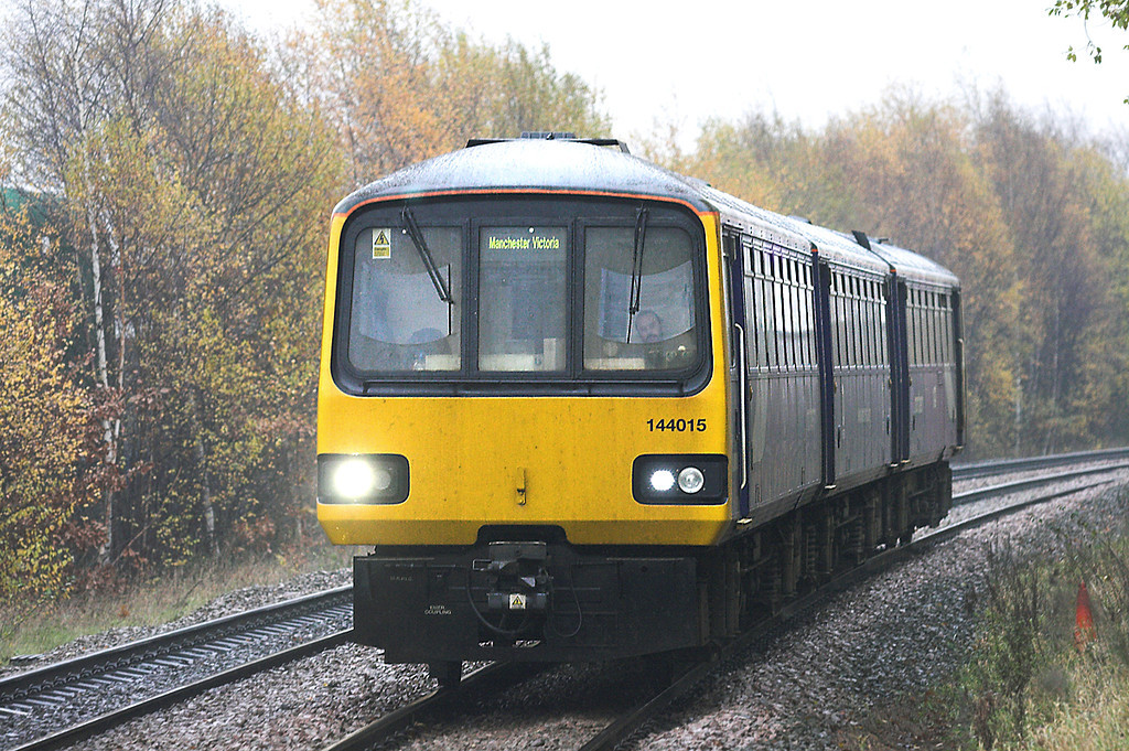 144015 Brighouse 18/11/2010<br /> 2U16 1313 Leeds-Manchester Victoria