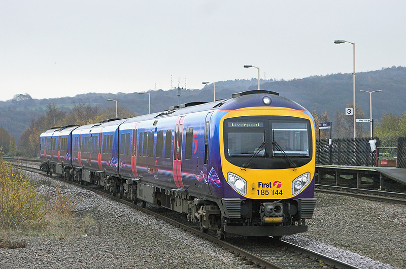 185144 Mirfield 18/11/2010<br /> 1F64 0947 Scarborough-Liverpool Lime Street