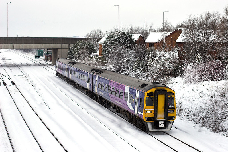 158753 Kirkham and Wesham 18/12/2010<br /> 1B27 1129 Blackpool North-York