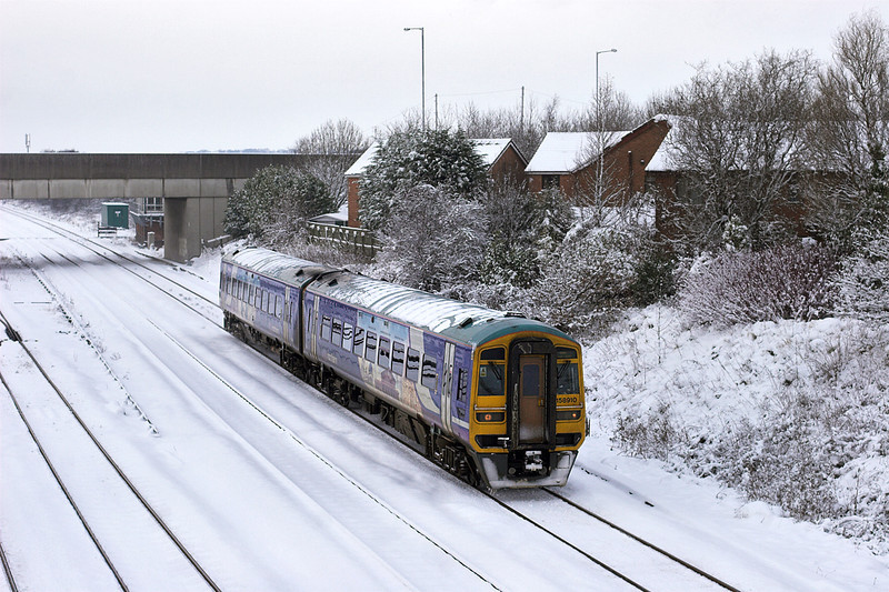 158910 Kirkham 18/12/2010<br /> 1B29 1229 Blackpool North-York
