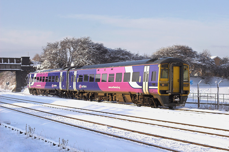 158851 Kirkham and Wesham 18/12/2010<br /> 1B31 1329 Blackpool North-York