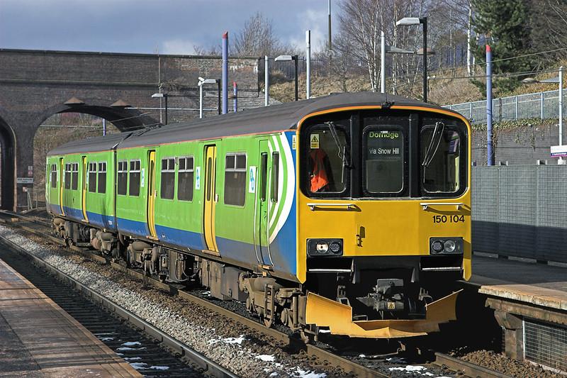 150104 The Hawthornes 20/2/2010<br /> 2C34 1225 Stourbridge Junction-Dorridge