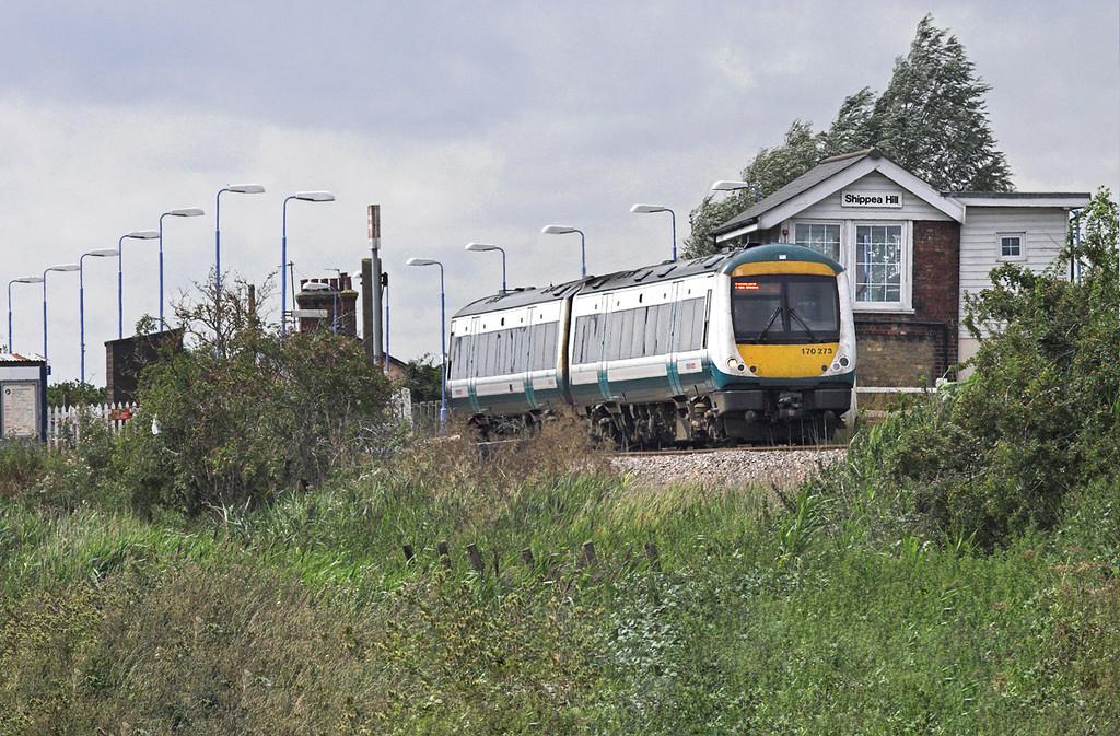 170273 Shippea Hill 20/8/2010<br /> 1K77 1240 Norwich-Cambridge