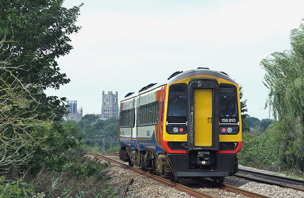 158810 Queen Adelaide 20/8/2010<br /> 1R78 0957 Norwich-Liverpool Lime Street