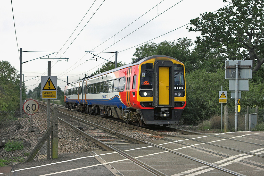 158858 Ely 20/8/2010<br /> 1R74 0857 Norwich-Liverpool Lime Street