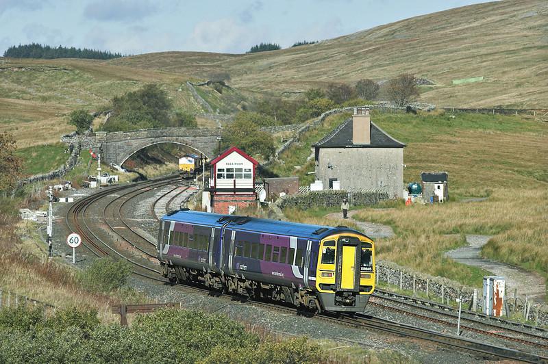 158845 Blea Moor 20/10/2010<br /> 2H88 1249 Leeds-Carlisle