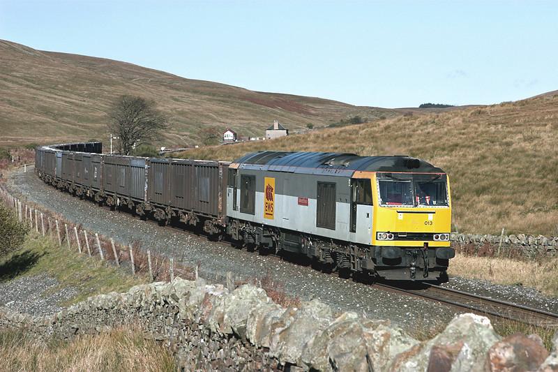 60013 Blea Moor 20/10/2010<br /> 6E13 1240 Newbiggin-Milford Sidings