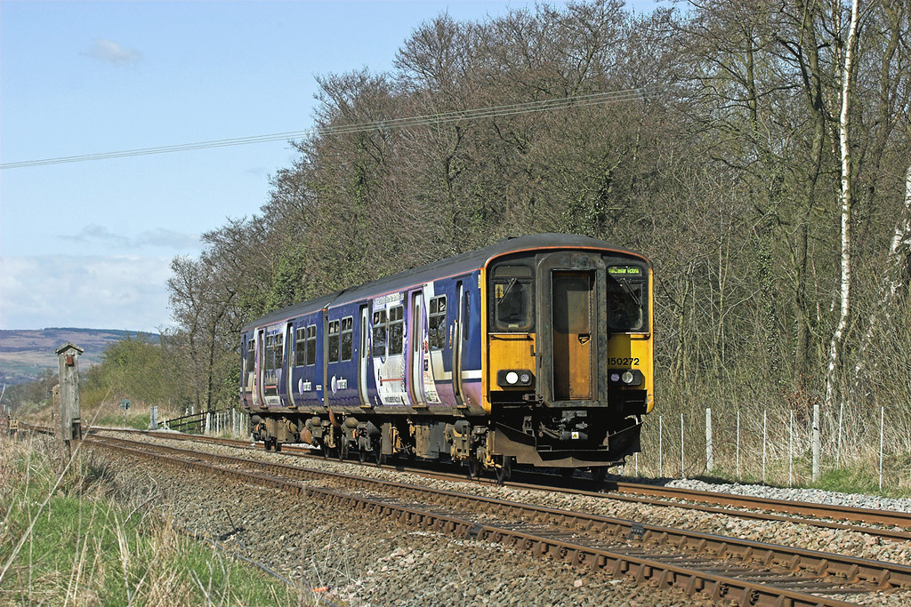 150272 Barrow 21/4/2010<br /> 2J56 1526 Clitheroe-Manchester Victoria