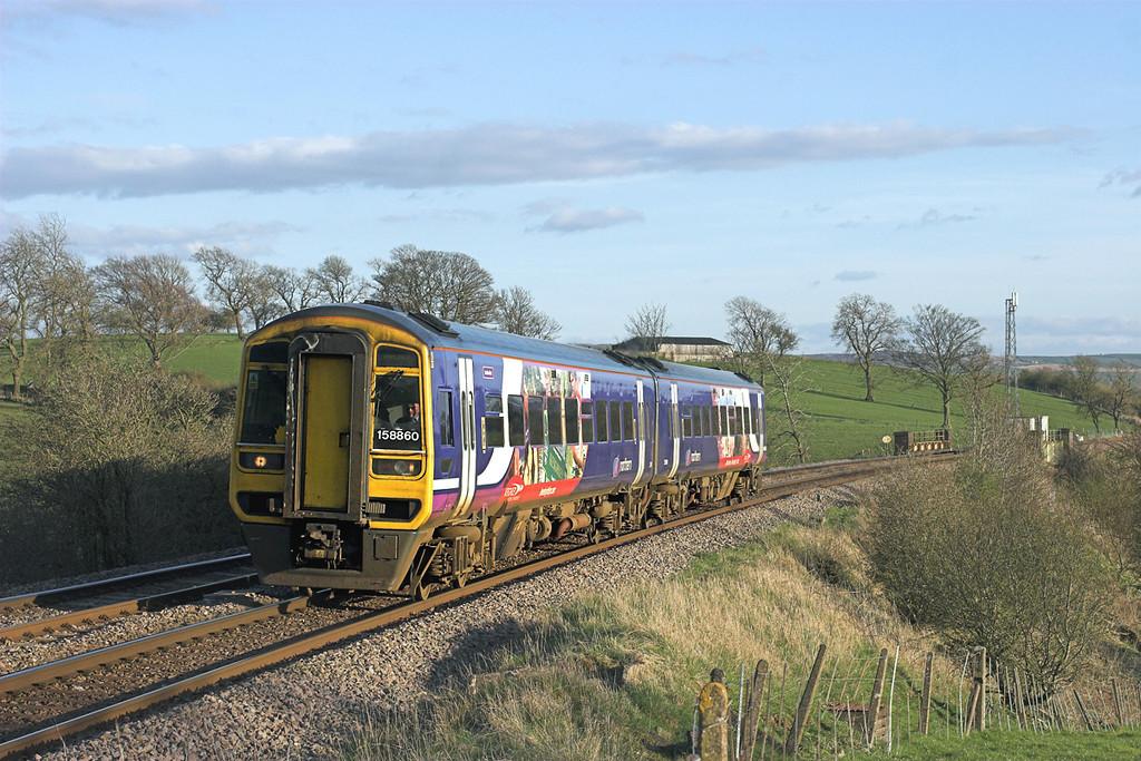 158860 Coniston Cold 21/4/2010<br /> 2H96 1756 Leeds-Carlisle