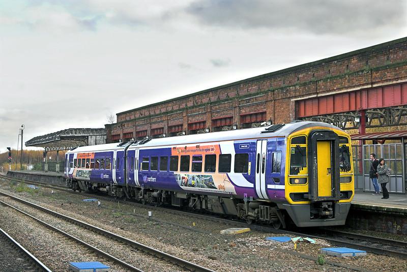 158784 Wakefield Kirkgate 23/11/2010<br /> 1Y25 1105 Leeds-Nottingham