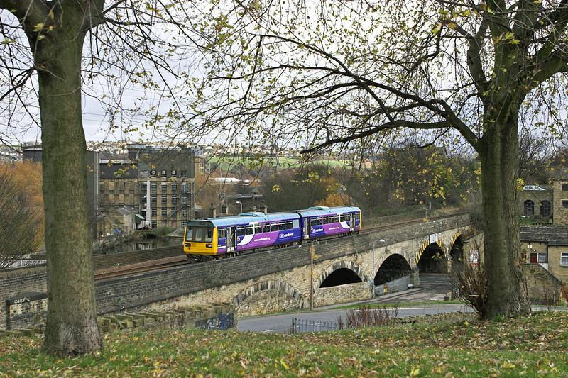 142084 Brighouse 23/11/2010<br /> 2W76 1229 Wakefield Westgate-Leeds