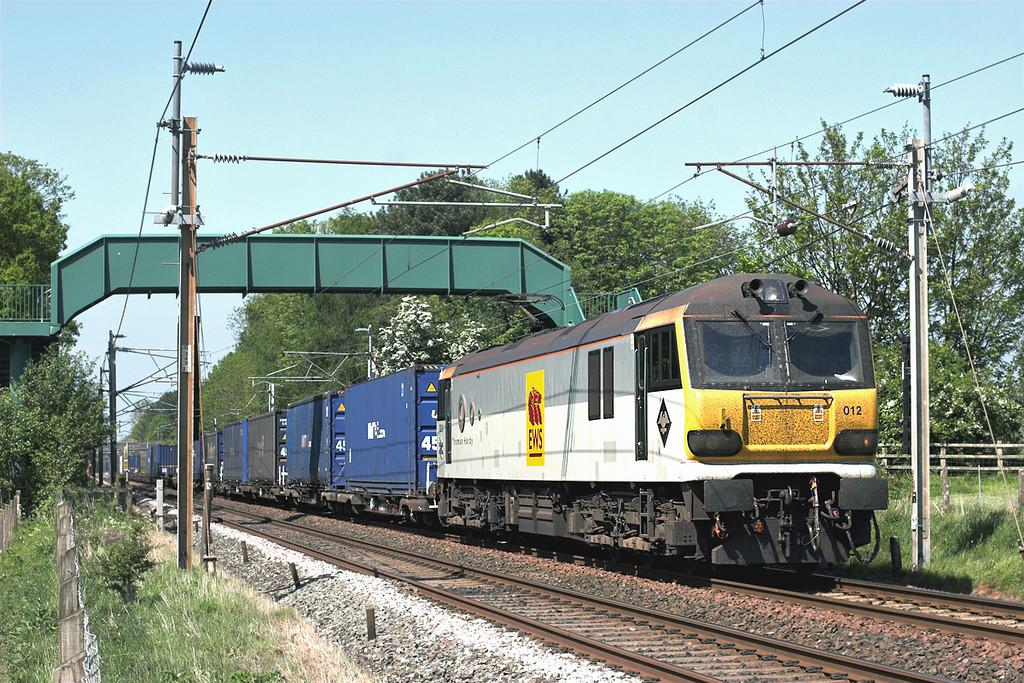 92012 Brock 24/5/2010<br /> 4M63 1012 Mossend Yard-Hams Hall