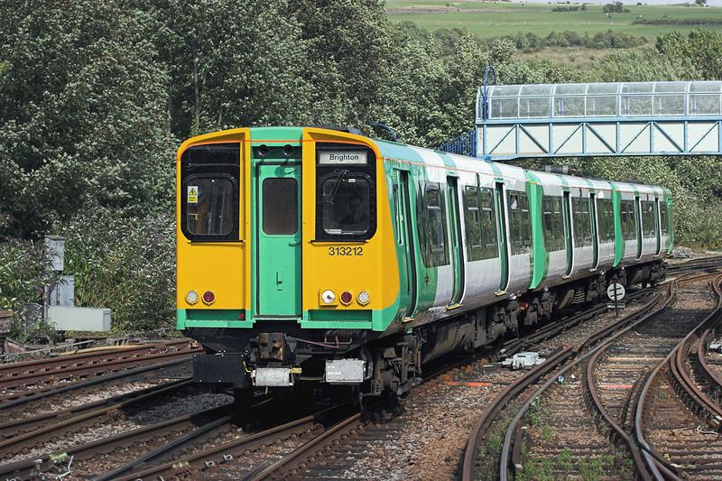 313212 Lewes 24/8/2010<br /> 2F70 1458 Seaford-Brighton