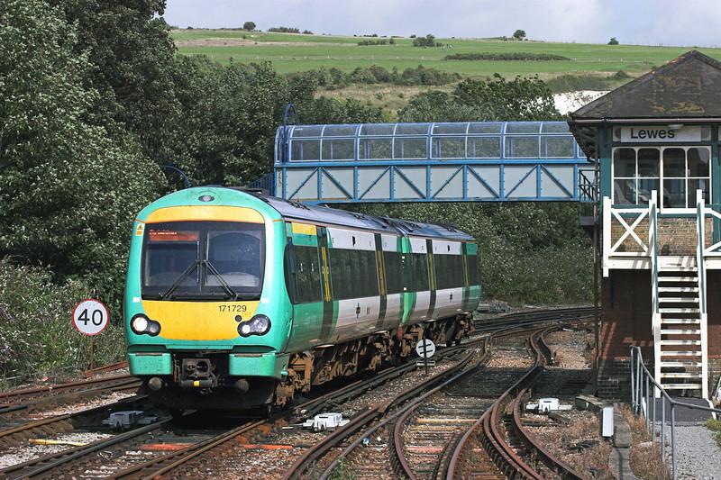 171729 Lewes 24/8/2010<br /> 1G34 1332 Ashford International-Brighton