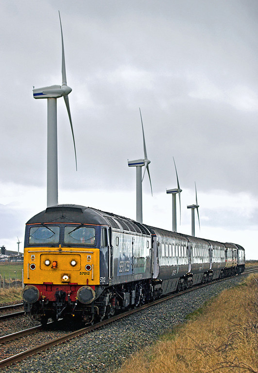 57012 and 47790, St Helens 29/1/2010<br /> 2T26 1120 Workington-Maryport