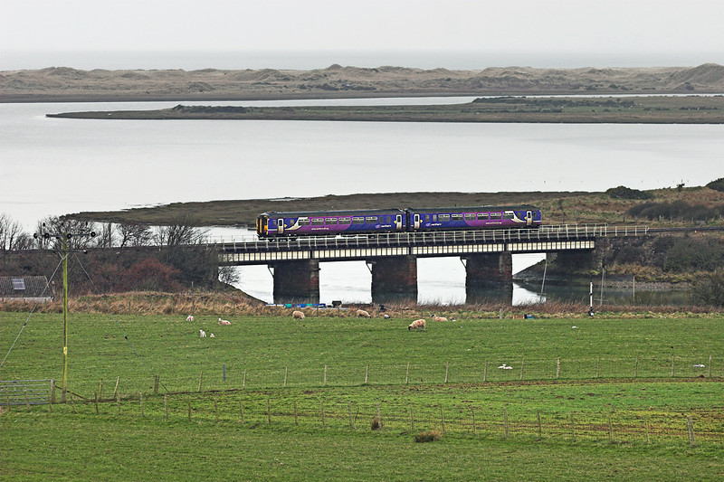 156481 Ravenglass 29/3/2010<br /> 2C33 1231 Barrow in Furness-Carlisle