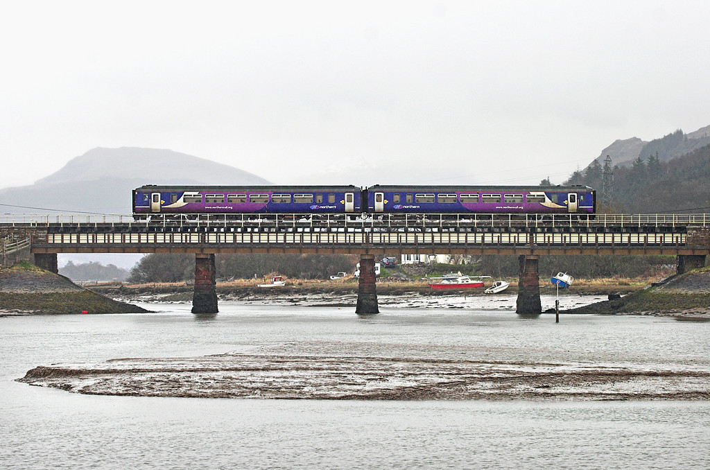 156480 Ravenglass 29/3/2010<br /> 2C30 1247 Carlisle-Barrow in Furness
