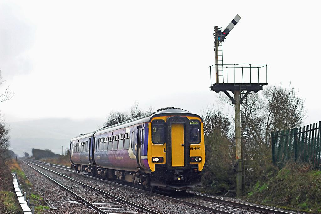 156480 Foxfield 29/3/2010<br /> 2C43 0838 Preston-Carlisle