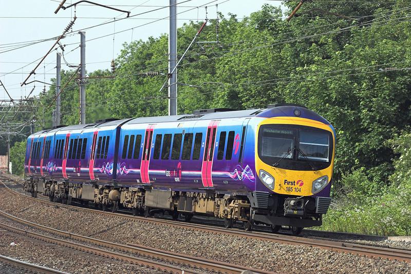 185104 Lancaster 30/6/2010<br /> 1M97 1408 Edinburgh-Manchester Airport
