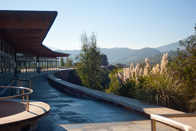Recently established (1990's), the Matetic Vineyard featured modern architecture as well as an efficient layout for wine production.