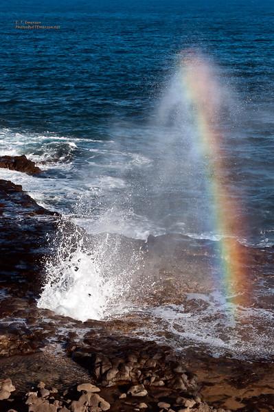 Hawaii, Kauai, Spouting Horn