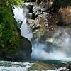 Hollyford Waterfall