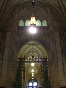Inside the Cathedral of Learning.