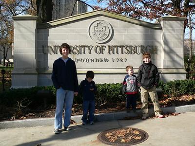 GT1, GA, BA, and GT2 Outside Pitt Sign