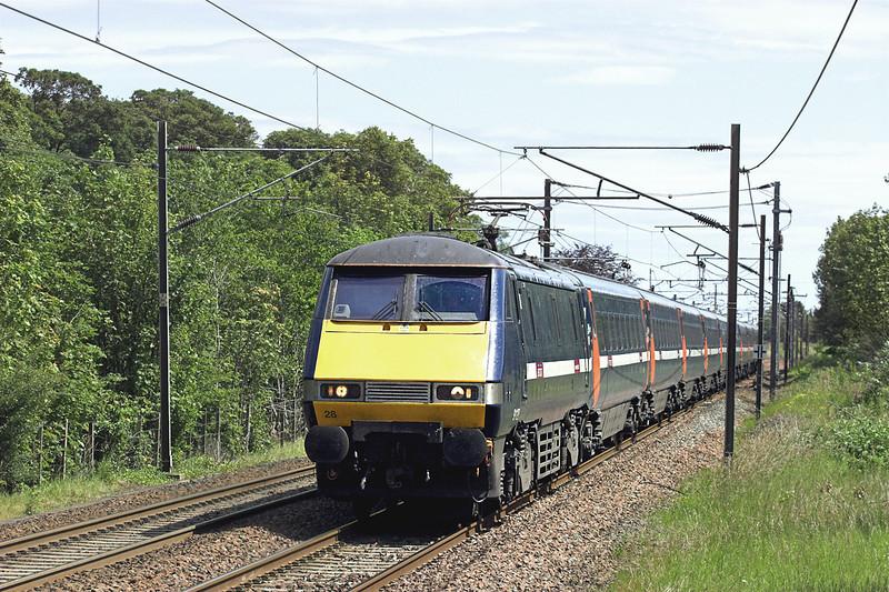 91128 Longniddry 1/7/2011<br /> 1S07 0800 London Kings Cross-Edinburgh