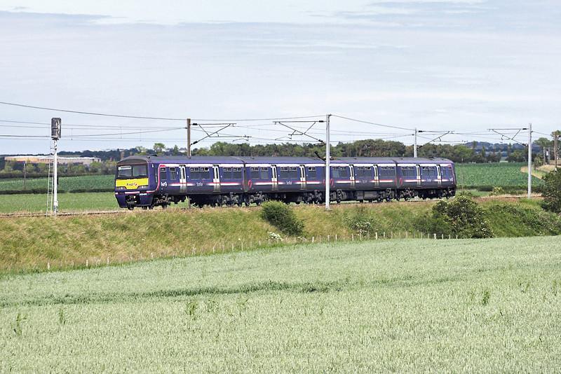322485 Spittal 1/7/2011<br /> 2D87 1411 Edinburgh-Dunbar