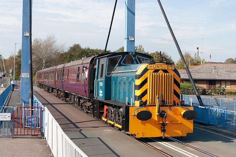 D2595 Preston Docks 1/10/2011