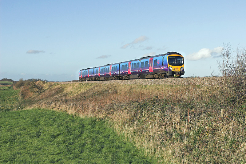 185151 Weeton 1/11/2011<br /> 1U69 1444 Blackpool North-Manchester Airport