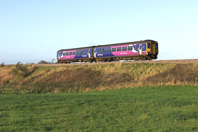 156441 Weeton 1/11/2011<br /> 2N76 1336 Liverpool South Parkway-Blackpool North